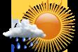Ícone de condição de tempo: Possibilidade de Chuva